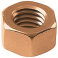 "Burndy 38CHENBOX 3/8"" Hex Nut"