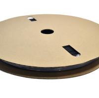 "TXM 34HSBFR50FT 3/4"" Heat Shrink Tubing 2:1 Black PVC #2 1/0 (50')"