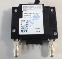 307-06000-01 60 AMP CKT BREAKER BULLET BLACK HANDLE 3 PIN