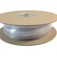 "TXM 12HSCFR50FT 1/2"" Heat Shrink Tubing 2:1 Clear PVC #4 #6 (50')"