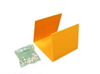 "Alcatel-Lucent 105760177 Orange Splice (For 4""x4"" Straight Duct SC4X4ORN)"