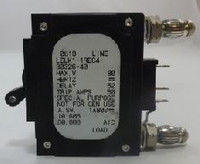 101605 CIRCUIT BREAKER, HYD MAG, 1P, 40AMP , 80 VDC, SPDT, 19 AND 23ö