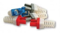Platinum Tools 100030R-C Strain Relief for Cat6, (Red). 50/Clamshell.