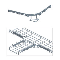 CURVED BAR W/6 SETS OF PARTS, ZINC