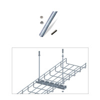 3FT SCREW ROD W/CEMENT WALL ANCHOR KIT
