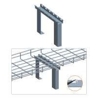 """CABINET TOP STAND, ZINC 4"""",6"""",8"""" or 12"""""""