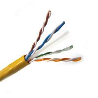 CAT6 UTP CMR Solid PVC 4PR 1000' Box
