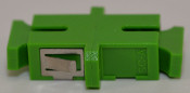 SC/APC Simplex Green Singlemode Coupler large flange