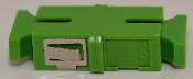 SC/APC Simplex Green Singlemode Coupler small flange