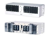 "009-6212-2100  200A Dual Feed 6/6 Circuit Breaker Panel 23"" White"