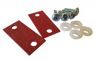 Isolation Mounting Kit for 1RU Includes ISO Pads and Hardware