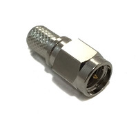 SMA Male Crimp Connector For RG8x/LMR240/LMR240UF/LOW240 (SMAML240C)