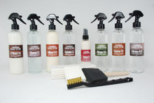 Hair-On Hide Zebra and Cow Cleaner and  Mold Odor Inhibitor - Kit-H4.mk