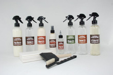 Kit-Aw3.bo : Aniline Wax Pull-up Leather - Body-Odor Deodorizer Kit