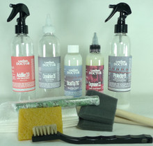 Kit-B7 :  Bicast Leather - Sticky Topcoat Refinishing Kit