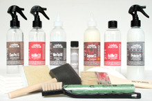 Kit-Sa7.st - Semi-Aniline Leather Sticky Topcoat Refinishing Kit