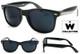 Wayfarer Classic Black 80's Style Sunglasses Uv400