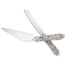 Olivia Reigel Windsor Serving Set w/Knife and Server
