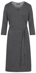Wrap nursing and maternity dress