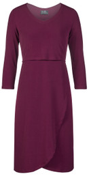 Tulip hem nursing dress