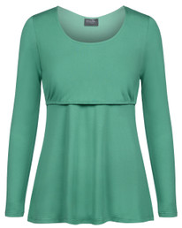 Essential long-sleeve nursing top