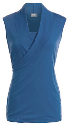 Sleeveless crossover nursing top SALE COLORS