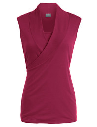 Sleeveless crossover nursing top SALE COLOR