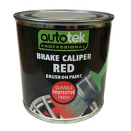 Red Brush On Brake Caliper Paint - 250 ml