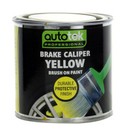 Gloss Brake Caliper Paint, Brush On - Yellow