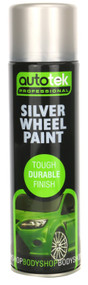 Wheel Silver Alloy Wheel Paint - 500 ml