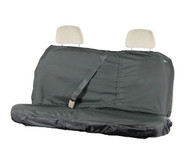 Air Bag Compatible Rear Waterproof Seat Cover - Black
