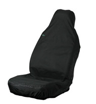 Single Front Universal Fit Seat Cover -  Black