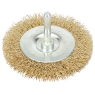 75 mm Wire Rotary Flat Brush - 6 mm Shank