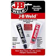 JB Weld Steel Reinforced Epoxy Weld - 2 x 28 g