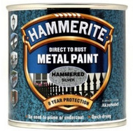 Silver Hammerite, Hammered Finish  - 250 ml