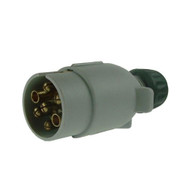 Plastic Supplementary plug For Caravan Electrics - 12S,  7 Pin