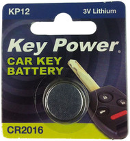CR2016 Key Fob Battery - 3V