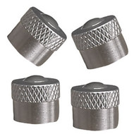 Metal Valve Caps, Schrader - Pack of 4