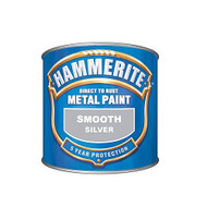 Silver Hammerite, Smooth Finish  - 250 ml