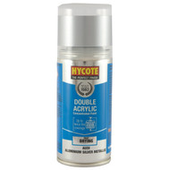 Hycote Vauxhall Titanium Silver (Pearl) Acrylic Spray Paint - 150 ml