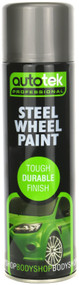 Steel Finish Alloy Wheel Paint - 500 ml