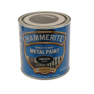 Black Hammerite, Smooth Finish  - 250 ml