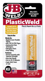 JB Weld PlasticWeld Epoxy Putty - 57 g