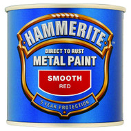 Red Hammerite, Smooth Finish  - 250 ml