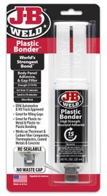 JB Weld Plastic Bonder High Strength Panel Adhesive Syringe - 25 ml