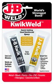 JB Kiwk Weld Steel Reinforced Epoxy Weld - 2 x 28 g