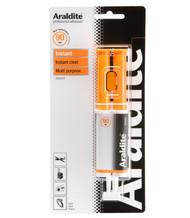 Araldite Instant Syringe Clear Epoxy Adhesive - 24 ml