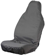 Single Front Universal Fit Seat Cover -  Grey