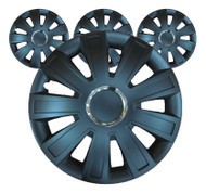 Black Inferno Car Wheel Trims - 15 Inches