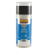 Hycote Ford Ebony Black Acrylic Spray Paint - 150 ml